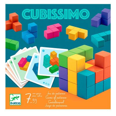 Djeco Cubissimo, 3D opgavespil for en person