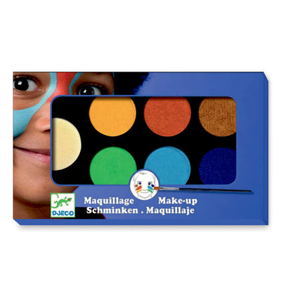 Djeco ansigtsmaling pallet, Natur