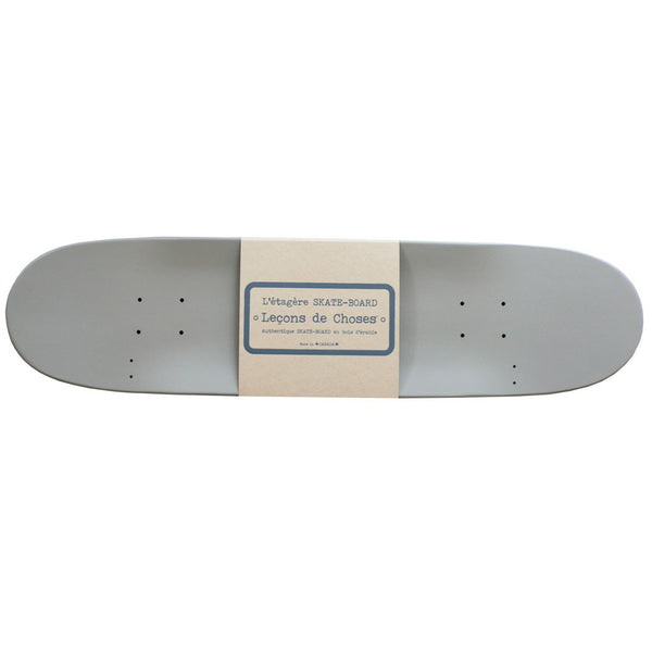 Lecons de Choses skateboard hylde, Gris anthracite