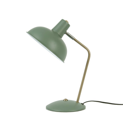 Leitmotiv Hood bordlampe i metal, Iron jungle green