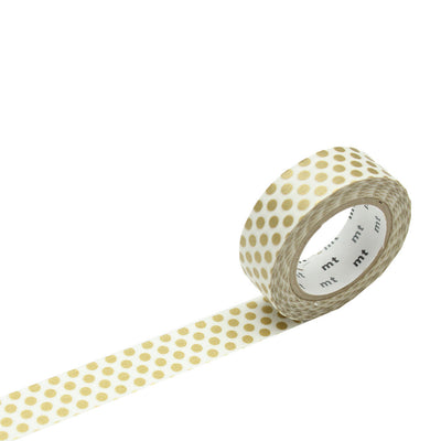 Masking Tape, Dot gold 2
