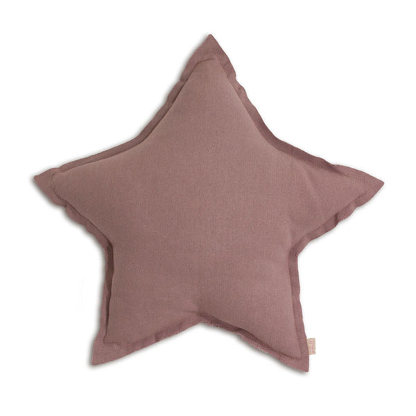 Numero 74 stjernepude, small - dusty pink