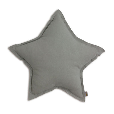 Numero 74 stjernepude, medium - silver grey