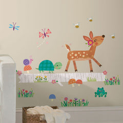 RoomMates wallsticker, Woodland baby - XL