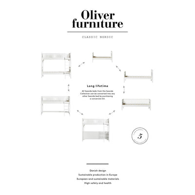 Oliver Furniture Seaside højseng