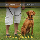 Braided Dog Leash - Hard Core