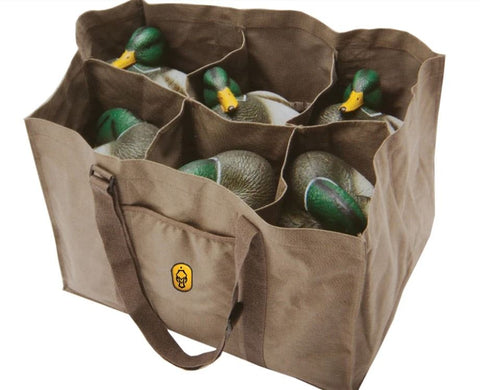 6 slot Full Body Duck Decoy Bag
