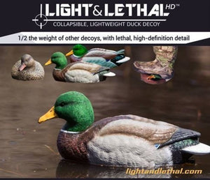 Light & Lethal Mallard Decoys