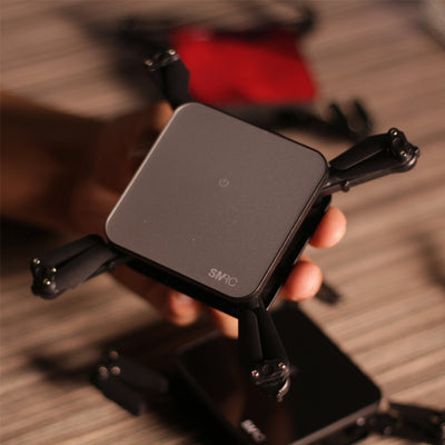 PocketDrone™ Foldable Mini Drone With HD Cam & WiFi Real-Time Transmission