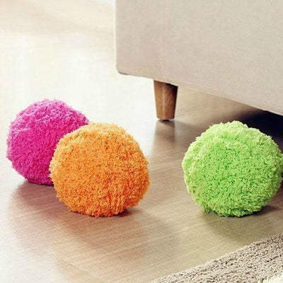 Fluffy Robotic Cleaning Ball