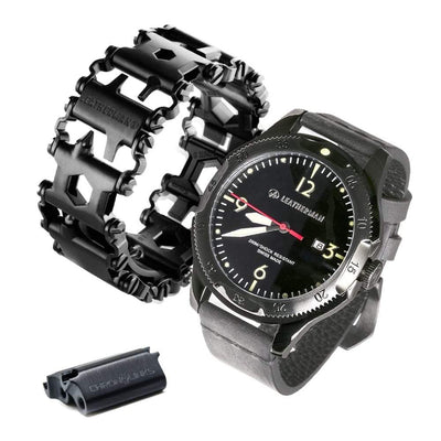 ALPHATOOL™ 29-in-1 MultiTool Stainless Steel Bracelet/Watchband