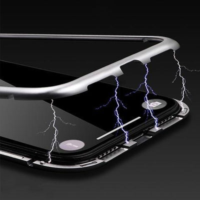 UltraS™ Premium Magnetic IPHONE Casing 9H tempered glass