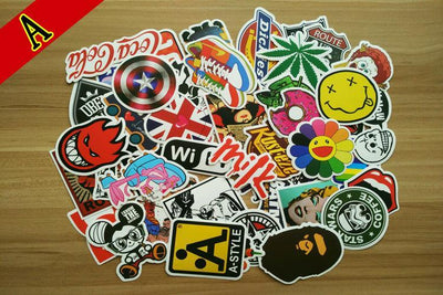 Premium Stickers Decals Vinyls (50 pcs)