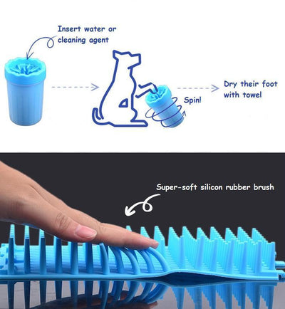 CleanPaws™ Pet Foot Washer