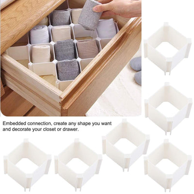 BEENEAT™ Adjustable Multi-Use DIY Grid Partition Organizer & Decorative Storage Box