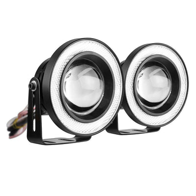 Universal LED Fog Light Halo Angel Eye Rings (2pcs)