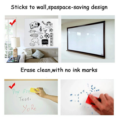StickerBoard™ Reusable Roll Up White Board