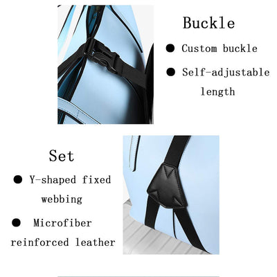 Travel Bag Holder/Organizer with Luggage Straps