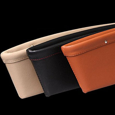 Leather Car Side Seat Pocket Organizer