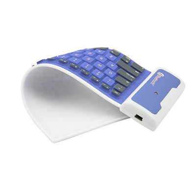 Silicon Roll-up Bluetooth Mini Keyboard for Smartphone & Tablet