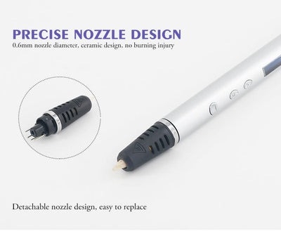 German Engineered Ultra-Slim 3D PRO Printing Magic Pen