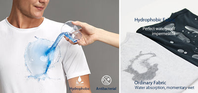 NanoTech UltraDry™ THE BEST Breathable Water & Stain-Repellent T-shirt