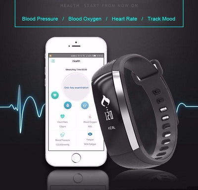 Waterproof Bluetooth Health & Fitness HD Touch-Screen Smart Band For Android & IOS With Incoming Calls & Messages