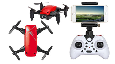 MicroSpark™ Mini Wifi Foldable Pocket Drone