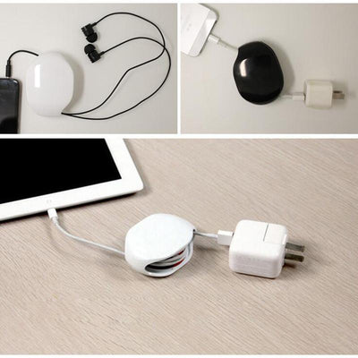 Automatic-Cord Tangle-Free Portable Cable Manager