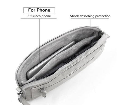 Travel Messanger Carry Storage Bag With Shockproof Inner Lining Protection For Men & Women