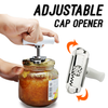 Stainless Steel Adjustable Cap Opener