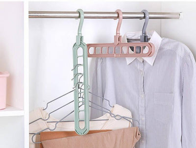 Space Saving Wonder Hanger For Pants or Clothes