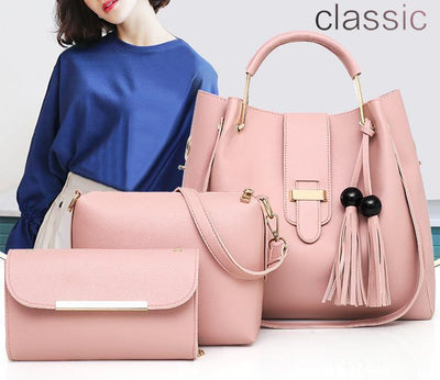 High Grade 1 PLUS 2 Women Stylish Bags