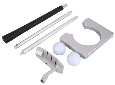 MAXIM™ Executive Portable Indoor Golf Putter Set with Leather Bag (FREE WORLDWIDE SHIPPING)