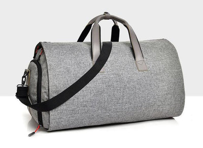 Multi-Purpose Waterproof High-Quality Duffel & Garment Bag with Shoes, Dress & Suit Compartments