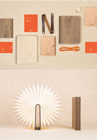 WOODY™ Portable Wooden LED Book Light (FREE SHIPPING*)