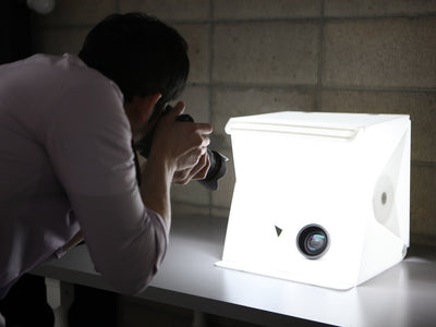 Portable Photo Studio with Built-in Light