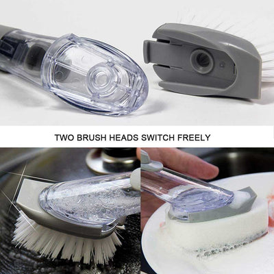 EasyScrub™ Kitchen Cleaning Scrubber with Soap Dispenser (FREE 3 Srcub Sponges Now!)