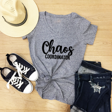 Load image into Gallery viewer, Funny Mom T-Shirts - Chaos Coordinator