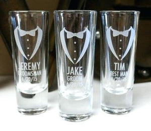 CUSTOM ETCHED PILSNER GLASS DRINK WARE - GIFTS