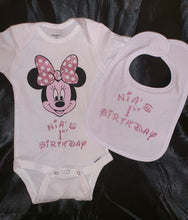 Load image into Gallery viewer, Custom Made Onesies and Bibs