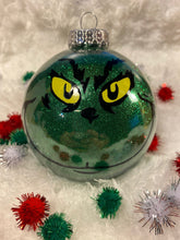 Load image into Gallery viewer, Grinch Christmas Ornament Ball