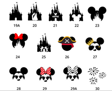 Load image into Gallery viewer, Disney Youth / Adult T-Shirts - Free Personalization