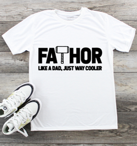 Fathers Day T-Shirt - FaTHOR