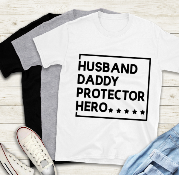Fathers Day T-Shirt - Daddy Protector