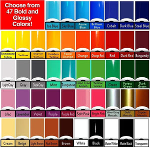 School Spirit Car Decals - Vinyl