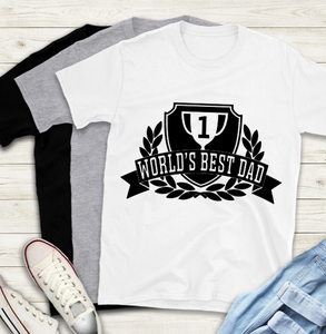 Fathers Day T-Shirt - Worlds Best Dad