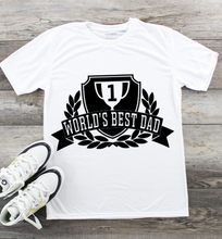 Load image into Gallery viewer, Fathers Day T-Shirt - Worlds Best Dad