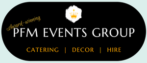 PFM Events - award winning catering decor hire