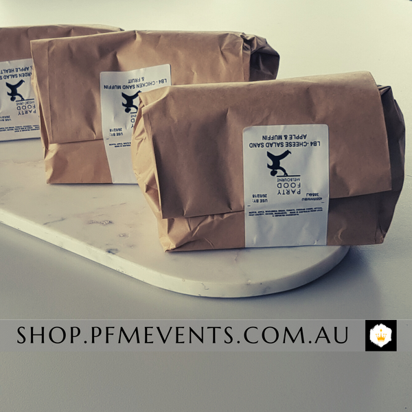 Gluten Free Sandwich Lunch Bag Launch Event Melbourne Weddings